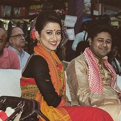 Barsha Rani at Dilli Hut during the Rongali Bihu celebration #bihu #assam