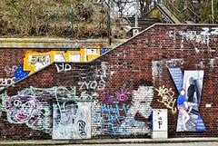 Decorated Stairs (csaba.lehel) Tags: stairs graffiti hamburg altona decorated