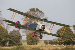 Avro 504K E3273 (Newdawn images) Tags: plane airplane flying aircraft aviation aeroplane airshow shuttleworth trainer biplane avro airdisplay 504k shuttleworthcollection oldwarden canonef500mmf4lisusm gadev canoneos6d e3273 avro504ke3273