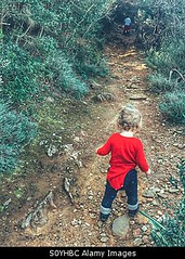 Photo accepted by Stockimo (vanya.bovajo) Tags: autumn two baby playing nature girl childhood forest way walking children one toddler alone sitting play natural path walk exploring year young years mystic pathway discover caucasian iphone babyhood iphonegraphy stockimo