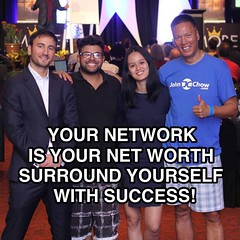 Birds of a feather flock together. Who is on your success team? - with @adelinesugianto @shaqirhussyin @mattlloydandmobe #success #team #mobe #mastermind #richbitch #asian #1whiteguy