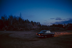 blue hour (ink and mice) Tags: volvo amazon 122 122sday