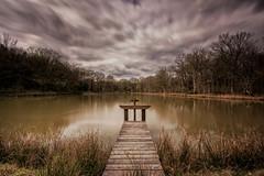 Sologne... (Galle De Muynck-Photographie) Tags: longexposure bridge france water colors clouds canon landscape filter sologne