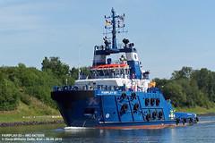 FAIRPLAY-33 (9476006) (004-06.08.2015) (HWDKI) Tags: ship vessel tug schiff kiel nordostseekanal imo nok landwehr schlepper kielcanal delfs fairplay33 hanswilhelmdelfs 9476006