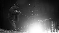 Fishing B&W Version | Olympus E-M5 MarkII | Sigma 60mm F2.8 DN (Roland C. Vogt) Tags: fishing sigma olympus 60mm f28 | markii dn em5