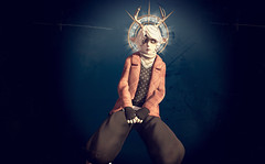 Nine (Lalie Sorbet SL) Tags: portrait expression avatar sl fantasy secondlife virtual imagination srie serie virtualit virtuality metaverse virtualworld incarnation virtuel fantasme mondevirtuel universparallle