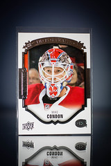 Mike Condon UD Rookie Portraits (cdn_jets_cards) Tags: mike hockey portraits cards montreal canadiens condon rookie hl ud upperdeck nhlpa