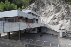 Abandoned Restaurant Walensee (Kecko) Tags: house building abandoned geotagged restaurant schweiz switzerland suisse swiss haus kecko ostschweiz autobahn a3 svizzera gebude verlassen gl raststtte n3 walensee 2016 swissphoto nationalstrasse salleren geo:lon=9145260 geo:lat=47123000