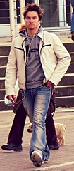 Sunday Studs (ManontheStreet2day) Tags: boy hoodie crotch twink jeans bluejeans ua underarmour