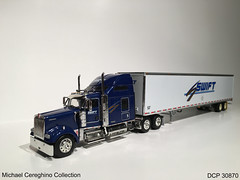 Diecast replica of Swift Transportation Kenworth W900, DCP 30870 (Michael Cereghino (Avsfan118)) Tags: scale truck toy model die w semi replica cast transportation 164 swift trans 900 kenworth diecast dcp w900 w900l 30870