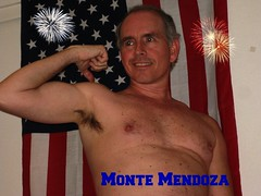 MM US flag UA 3 1 2010 (Monte Mendoza) Tags: shirtless man guy pits nipple dude uomo hombre homme ua noshirt armpits pecho sanschemise underarms sincamisa montemendoza