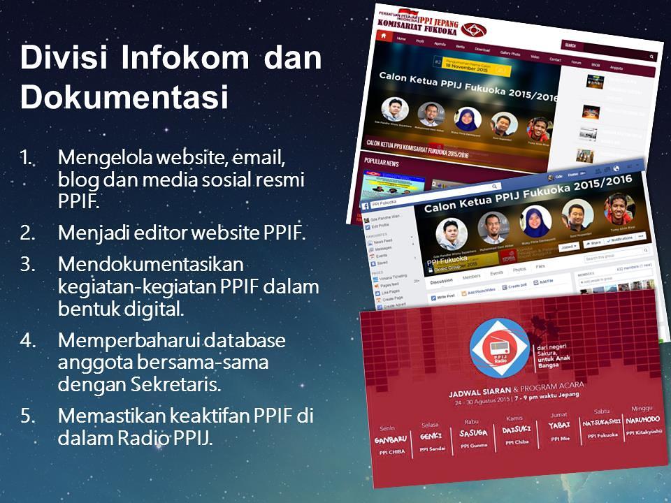 Divisi Informasi dan Komunikasi (Infokom)