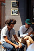 20160117-11-People outside Ecru (Roger T Wong) Tags: summer people coffee australia tasmania hobart iv ecru 2016 canon100f28macro canonef100mmf28macrousm metabones smartadapter rogertwong sonya7ii sonyilce7m2 sonyalpha7ii