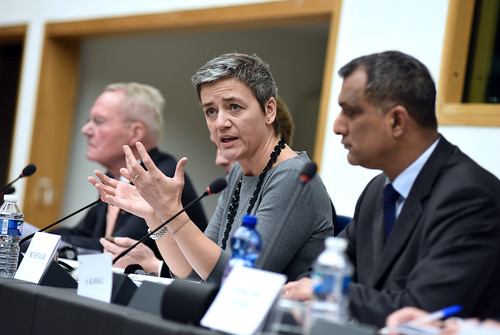 "Margrethe Vestager • <a style=""font-size:0.8em;"" href=""http://www.flickr.com/photos/50295034@N03/23875524713/"" target=""_blank"">View on Flickr</a>"