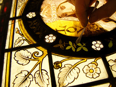 Love stained glass 3 cotton buds (RDW Glass) Tags: love glass scotland glasgow stainedglass virtue lodge cleaning repair 1870 langside rdwglass rawcliffe wjjkeir