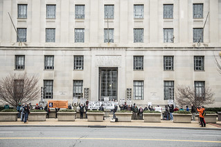 """Justice for Tamir"" Demonstration at the Department of Justice"