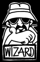 cholo sticker (Wizards_Stickers) Tags: street art graffiti sticker stamps paste labels characters usps spraycan slaps cholo collabs mtsk cholowiz nazer26