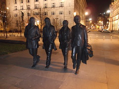 A Hard Day's Night for the Fab Four (Neil 02) Tags: statue liverpool waterfront bronzestatue pierhead thebeatles merseyside