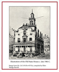 Illustration of the Old State House, c. late 19th C. (State Library of Massachusetts) Tags: oldstatehouse bostonmassachusetts massachusettsstatehouse massachusettslegislature