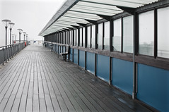Emptyness (Collingwood505) Tags: cold wet pier vanishingpoint empty windy bleak desaturated damp boscombe