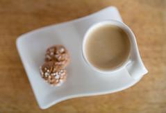 Italian Coffee (Jillyem) Tags: cup coffee italian cookie drink beverage depthoffield biscuit espresso saucer amaretti