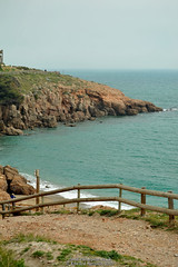 Path (Ed.ward) Tags: sea holiday france fence coast mediterranean sete cliffs southoffrance mediterraneansea cyclingholiday 2015 nikond700 nikonafzoomnikkor80200mmf28ed