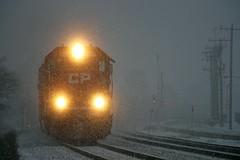 Luck (Nick Brown 261) Tags: railroad snow train cp emd