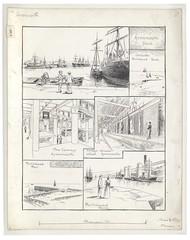Loxton H 600 (Bristol Libraries) Tags: uk docks bristol pier dock portishead wharf foreign granary avonmouth