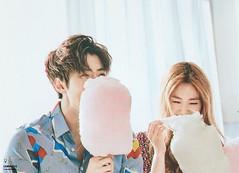 "CeCi Korea (Feb. 2016) - Irene with EXO Sehun ""Make a Promise"" (redvelvetgallery) Tags: magazine ceci irene redvelvet exo  sehun cecikorea hunrene"