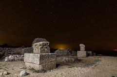 AMP_4053_1 (Amparo Hervella) Tags: longexposure espaa lightpainting star noche spain nikon ruinas nocturna estrella cuenca largaexposicin d7000 nikond7000