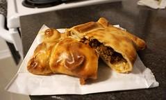 Empanada at Jumbo Empanada (deeeelish) Tags: beef pastry empanada