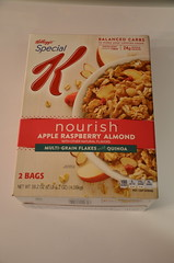 Kellogg's Special K Nourish Apple Raspberry Almond Cereal (Adventurer Dustin Holmes) Tags: food box cereal kelloggs specialk productpackaging cerealbox productpackage nourishappleraspberryalmond