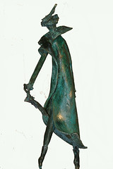 Top mode (aventuriero@ymail.com) Tags: sculpture bronze mode couture elegance aventuriero