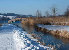 Am Obertrumersee (Gertraud-Magdalena) Tags: schnee winter lake lago see mattig jnner obertrum obertrumersee