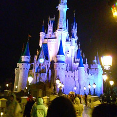 The only good picture I could get of the castle by... (Disney Cakes) Tags: world birthday castle cakes make cake frozen baking orlando princess disney mickey fl how minnie wdw pops walt