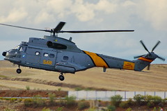 HD.19-5  SA330J Puma (Antonio Doblado) Tags: airplane aircraft aviation puma helicptero aviacin torrejn rotorcraft sa330 hd19 hd195 aire75