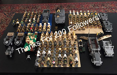 Thanks for 200+ plus guys! (ranger3181) Tags: world uk red 2 two england usa brick english japan usmc infantry america germany army japanese us war theater force desert lego pacific russia britain painted united nazi ss helmet camo mining special landing collection equipment communist german american rats soviet figure ww2 second imperial soldiers guns british marines uniforms states minifig sten custom russian naval kamikaze airborne commonwealth troops weapons bren enfield commando banzai ija partisan paratrooper wehrmacht waffen brickarms brickforge brickmania gibrick brickwarriors