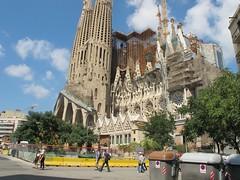 Sagrada Familia (Kapo Konga) Tags: chiesa catalunya turismo ferie barcellona spagna gaud facciata 3star citta gaudi
