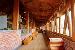 visitor centre resting area (eldzfny) Tags: japan hiroshima rabbitisland