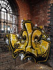 Cave (Alex Ellison) Tags: urban graffiti boobs cave graff eastlondon
