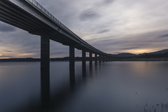 Valmayor (CeliaQuintillan) Tags: madrid bridge sunset lake puente atardecer arquitectura bridges puentes ocaso arquitecture infraestructura valmayor embalses galapagar