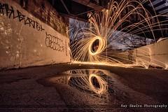 DSC_3867 (Ray Skwire) Tags: light hot color night fire nikon steel heat sparks steelwool d7200