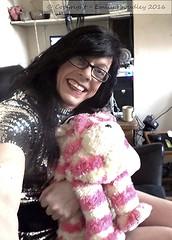Feb 2016 (Girly Emily) Tags: transgender crossdresser cd tv boytogirl mtf maletofemale tvchix trans transvestite transsexual tgirl tgirls convincing dress feminine girly cute 2016 bagpuss sequin sequins pretty smile xdresser gurl