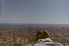 16. Felicidad, soledad... (Rubn T.F.) Tags: barcelona city urban film analog 35mm 50mm nikon mediterranean mediterraneo bcn carmel analogue bunkers
