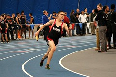 4x100 RELAY (MIKECNY) Tags: sport race track run highschool runner relay baton indoortrack uticacollege mechanicville