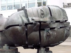 116#2 Head(s) (Pat's_photos) Tags: sculpture london head 1162