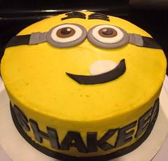 Minion Cake by Jacksonville, FL, www.birthdaycakes4free.com