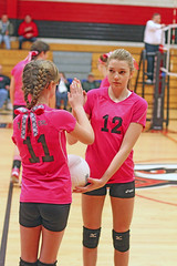 IMG_7192 (SJH Foto) Tags: girls club team sub teenagers teens rotation volleyball substitution tweens u14s