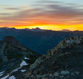 Hart's Pass Sunrise