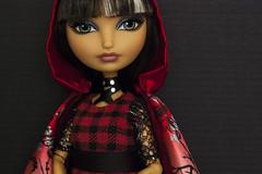 Ever After High Cerise I (portraitdiva) Tags: portrait art fashion photography doll daughter glam plaid couture mattel cerise redridinghood poupee eah darkglamour portraitdiva everafterhigh